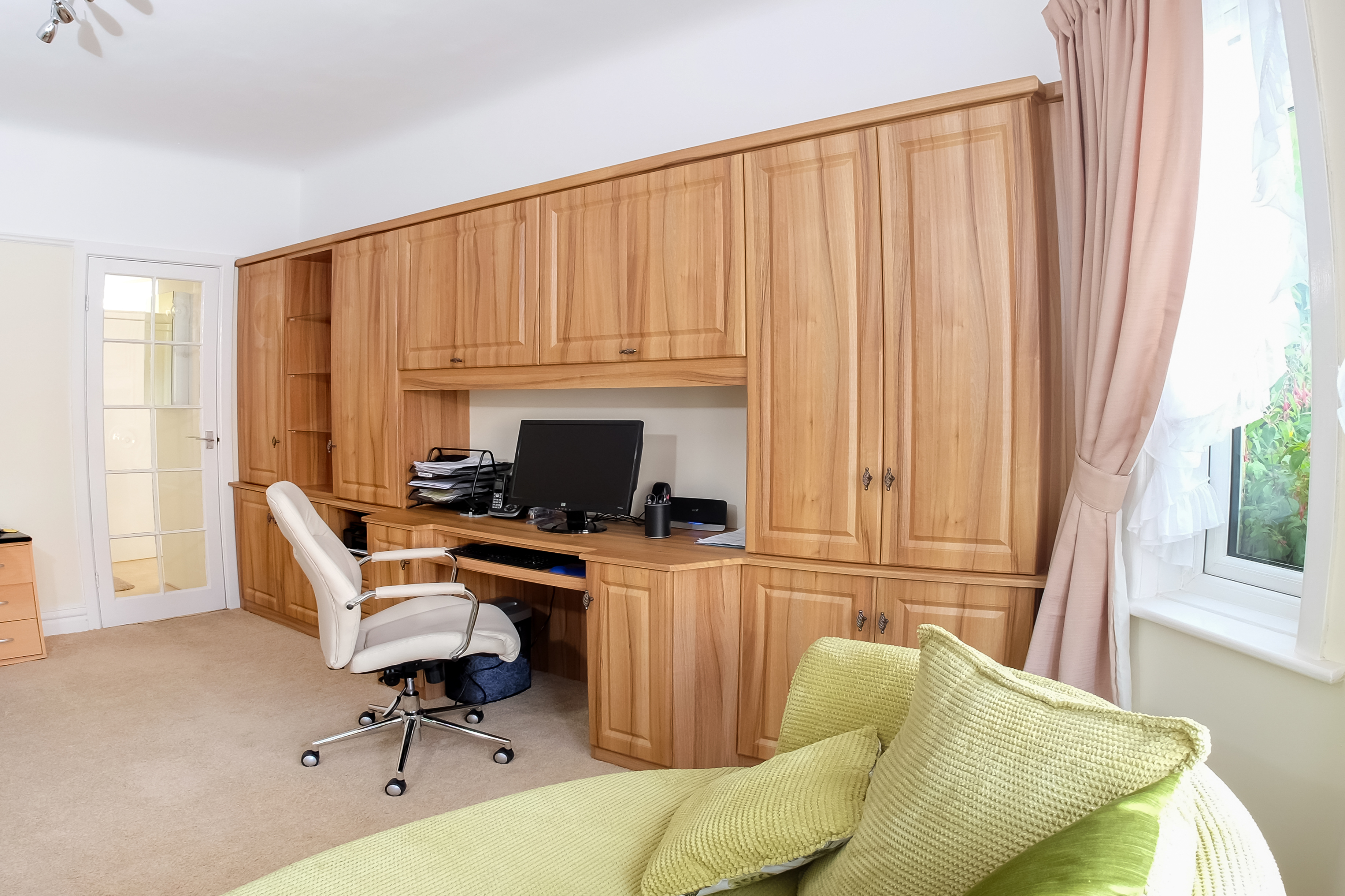 home offices fitted furniture. For More Information Regarding Our Fitted Bespoke Office Furniture In Bournemouth, Please Get Touch With Friendly Team At Custom Creations On 01202 Home Offices
