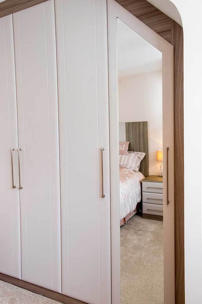 Fitted Wardrobe For Sloping Ceiling Case Study