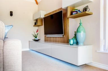 Custom Creations Bespoke TV unit Carr 005